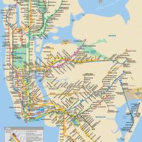 Így törölte le Sandy Manhattan csücskét a New York-i metrótérképről