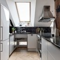 20 gyönyörű inspriáció tetőtéri konyhákhoz