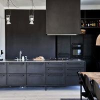 Színek a konyhában - fekete