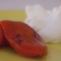 Fetasajtkrém sült paprikával