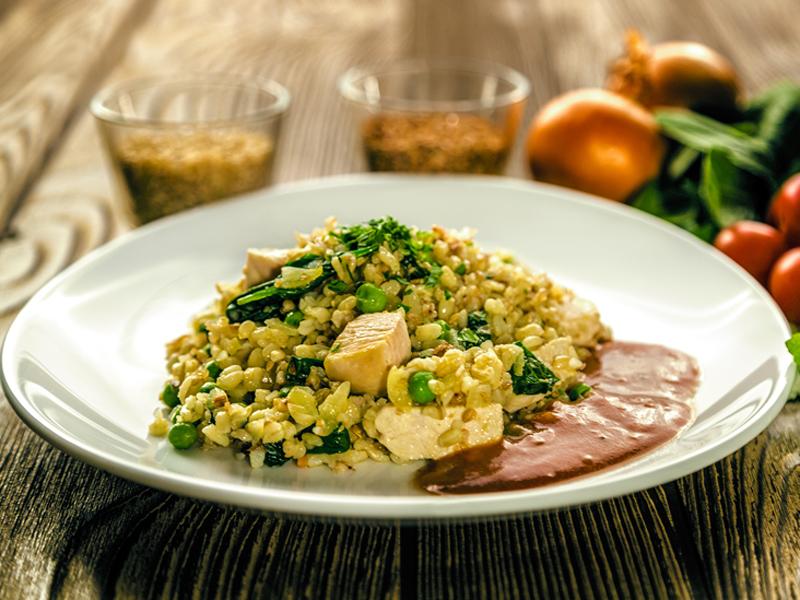 Vita rizottó - tartalmas és egészséges ebéd