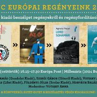 Kedvenc európai regényeink 2012-ben