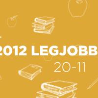 2012 legjobb könyvei: 20-11