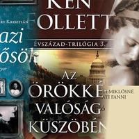 2014 legolvasottabb könyvei: Ken Follett, Radnóti Miklósné naplója és Nyáry Krisztián
