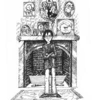 J.K. Rowling illusztrációkat készített a Harry Potterhez