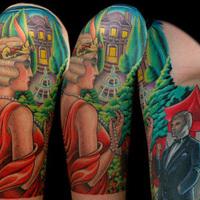 Tetoválásokat ihletett A nagy Gatsby