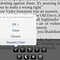 Egy új applikáció száműzi a káromkodásokat az e-könyvekből