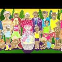 A váratlanul feltámadott nagymamát díszebéden köszönti a család