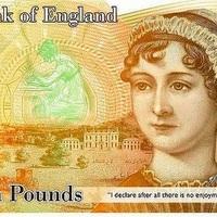 Jane Austen arcképe kerül a tízfontosra