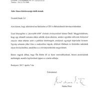 Nádas Péter nyílt levelet írt Ádernek a CEU miatt
