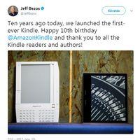 A 10 éves Kindle nem forradalmasította az olvasást