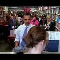 Obama gyerekkönyveket vásárol és hecceli a republikánusokat + VIDEÓ