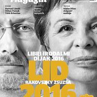 Rakovszky és Bartis - Megjelent a Könyves Magazin új száma!
