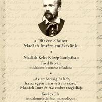 A 150 éve elhunyt Madách Imrére emlékezik a PIM (programajánló)