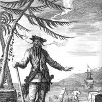 Két kalózkodás között Feketeszakáll is könyveket lapozgatott