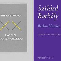 Krasznahorkai és Borbély Szilárd könyve is esélyes a Best Translated Book Awardra