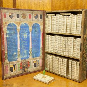Ilyen volt egy utazó könyvtár a 17. században