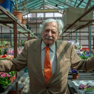 100 éves lett Bálint gazda, az ország kedvenc kertésze [VIDEÓPREMIER]