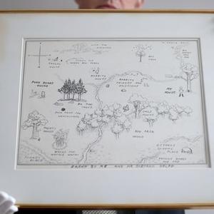 Rekordáron kelt el a Micimackóhoz készült eredeti térkép