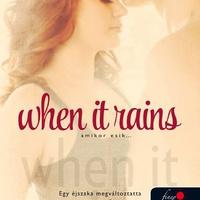 Lisa De Jong: When It Rains - Amikor esik