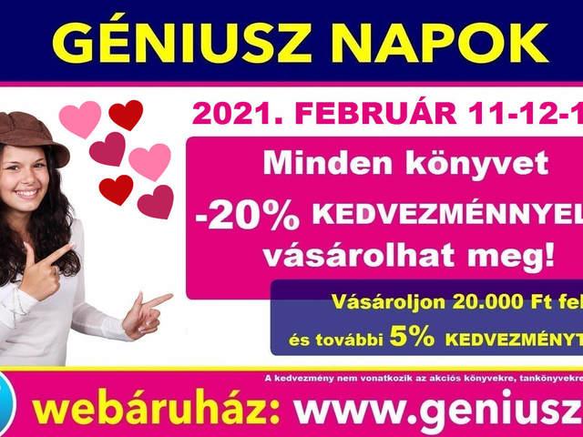 Ha február akkor szerelem és persze Géniusz Napok!