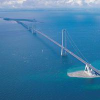 Száraz lábbal az Öresund-tengerszoroson