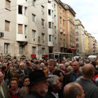 Teréz - Hollán sarok (tüntetések)
