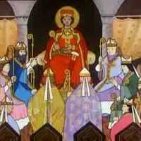 Istvánt királlyá koronázzák