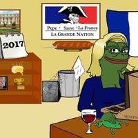 Egy radikális béka miatt bukott el Le Pen?