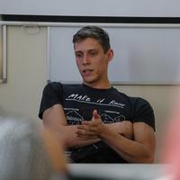 Fenyvesi Zoli, a Tiszta szívvel sztárja egyetemi vendégelőadóként próbálta ki magát