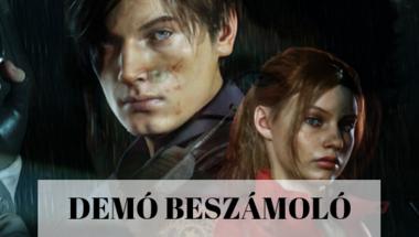 Resident Evil 2 demó beszámoló és játékmenet videó