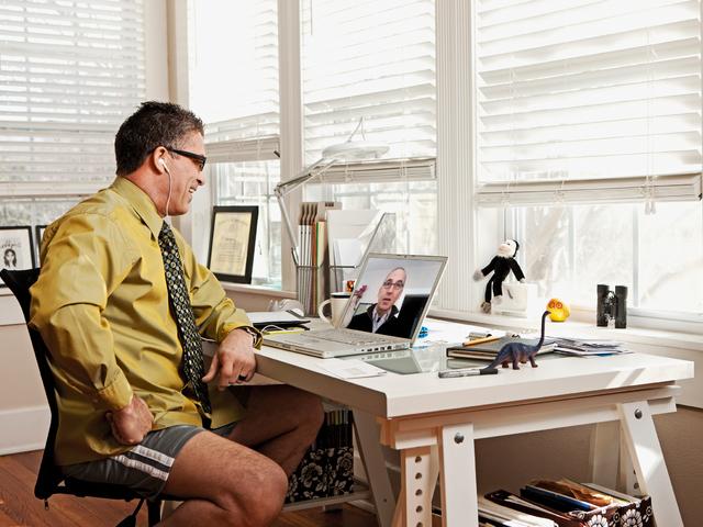 25 éve még nagy szívás volt a home office