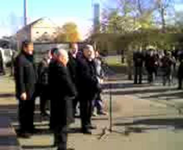 Tüntetés Orosházán - gyorsvideó telcsivel