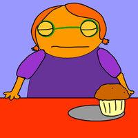 Amikor a muffin eszi meg a kislányt
