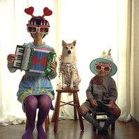 kutya és harmónika