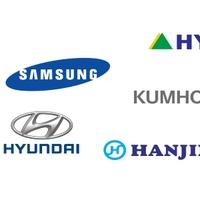 Samsung, LG, Hyundai..