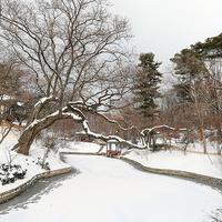 Hóesés a Changdeokgung palotában