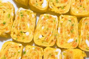 Könnyű, koreai tojástekercs
