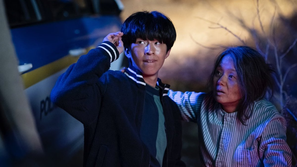 Jung-in demens anyja (Bae Jong-ok) mellett autista öccse (Hong Kyung) is gyanúba keveredik