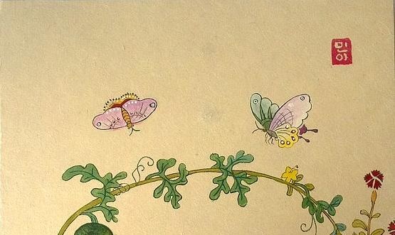 watermelons-and-butterflies-minhwa-art.jpg