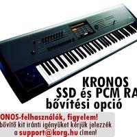 KRONOS felhasználók, figyelem! - Januártól lesz kapható az SSD és PCM RAM upgrade kit!