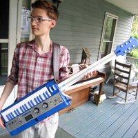 microKORG XL Neil Cicierega keytar mod - gitárszintivé avanzsált virtuál-analóg hangszer