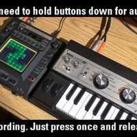 KORG Kaossilator Pro: hangrögzítés külső forrásból