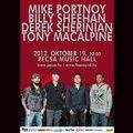 Portnoy, MacAlpine, Sherinian, Sheehan – zenész virtuózok koncertje Budapesten!