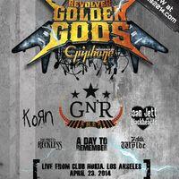 2014-es Revolver Golden God Awards jelölések!