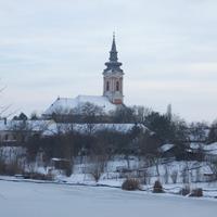 A Hármas-Körös ártere télen.