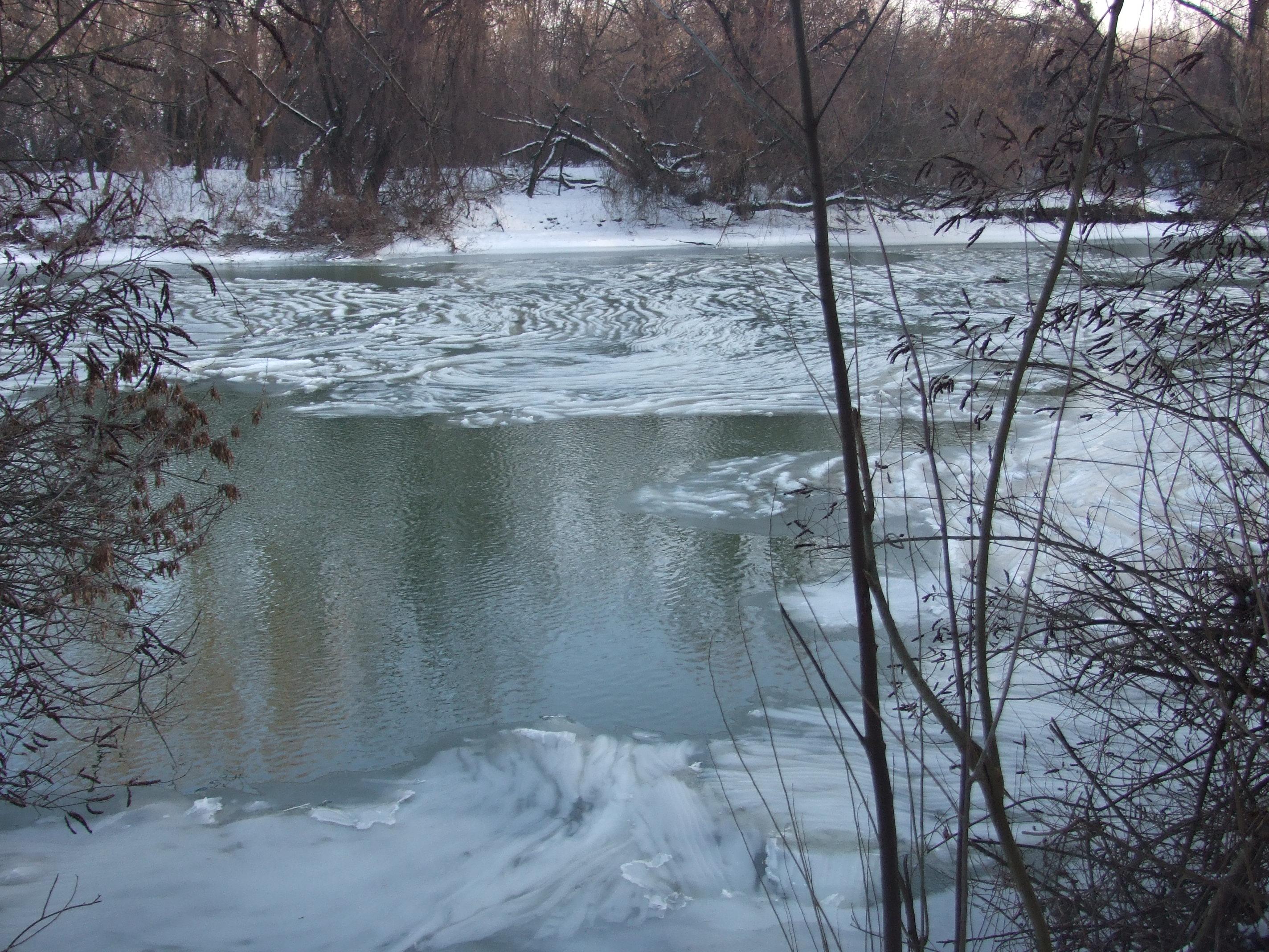 A jég az úr Körösön is