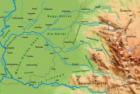 A szabályozások után a medrek egértélműve váltak. A folyók ásott mederbe és gátak közé lettek szorítva.