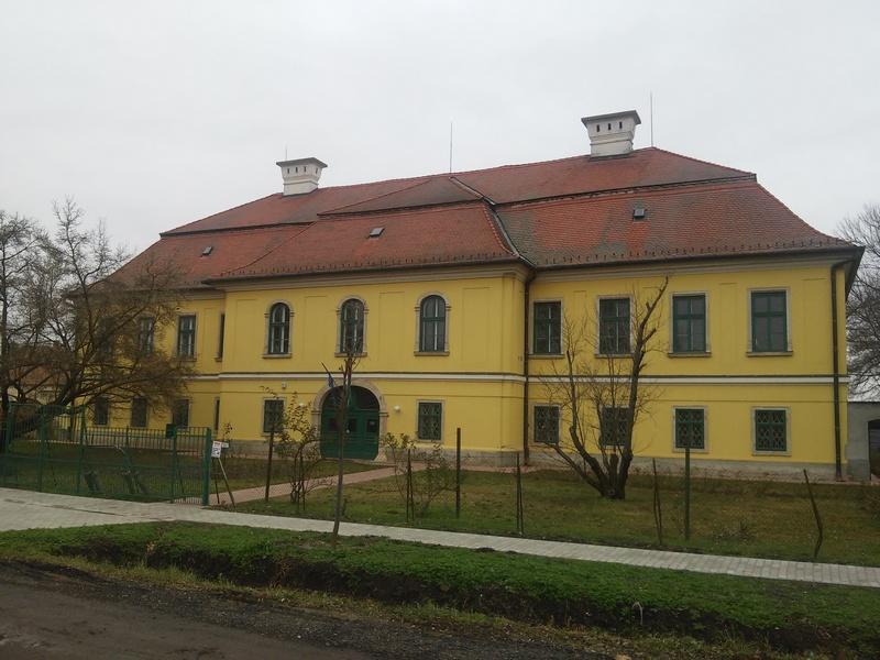 A vármegyeháza napjainkban