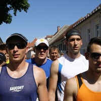 Bad Radkersburg Wüstenlauf félmaraton 2014-05-24